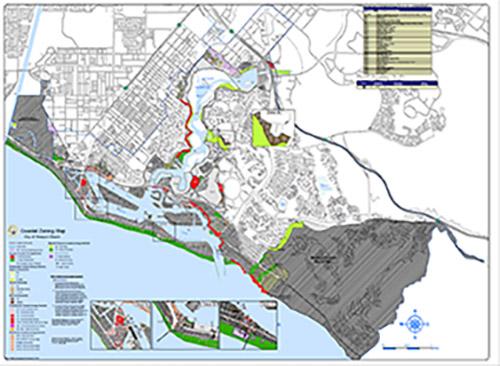 Map Catalog City Of Newport Beach - 36 x 48 world map